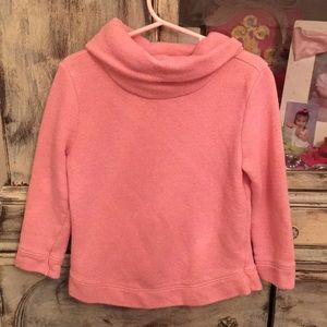 Old Navy pink/gold cotton sweater